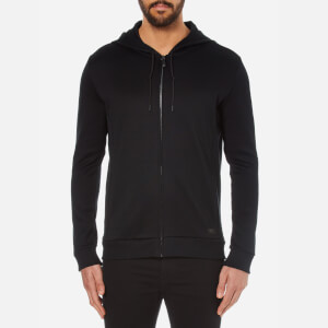 HUGO Men's Doscato French Rib Hoody - Black