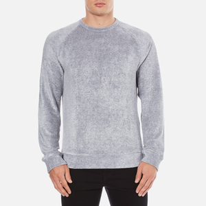 YMC Men's Terry Sweatshirt - Blue