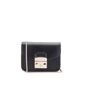 Furla Women's Metropolis Mini Crossbody Bag - Black