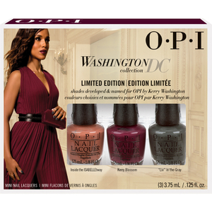 OPI Washington Collection Nail Varnish Mini Pack - 3 Pack