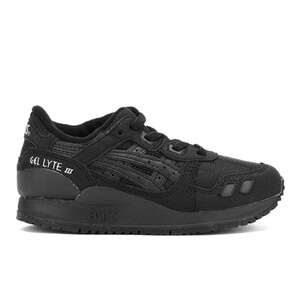 Asics Kids' Gel-Lyte III PS Trainers - Black