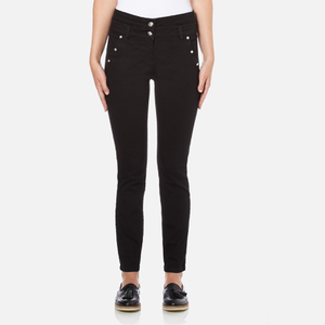 Versus Versace Women's Studded Pocket Jeans - Black
