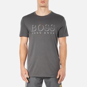 BOSS Hugo Boss Men's Large Logo T-Shirt - Dark Grey