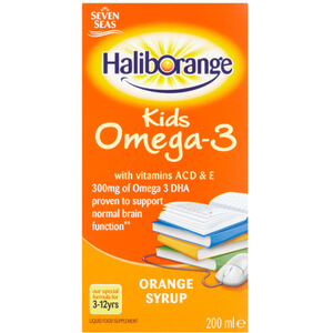 Haliborange Kids Omega 3 Orange Syrup
