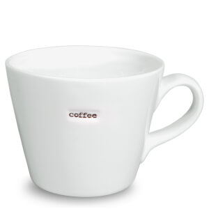 Keith Brymer Jones Bucket Coffee Mug - White