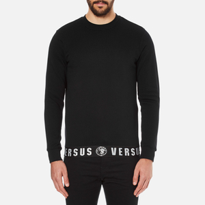 Versus Versace Men's Welt Detail Sweatshirt - Black