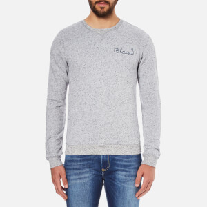 Scotch & Soda Men's Clean Worked Out Sweatshirt - Grey