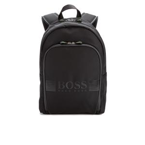 BOSS Green Pixel Backpack - Black
