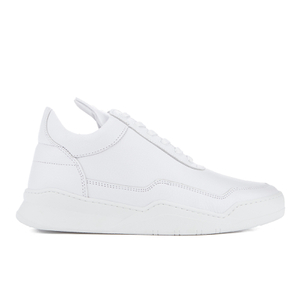 Filling Pieces Men's Jasper Low Top Trainers - White
