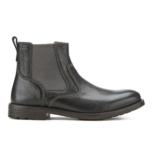 Clarks Men's Faulkner On Leather Chelsea Boots - Black