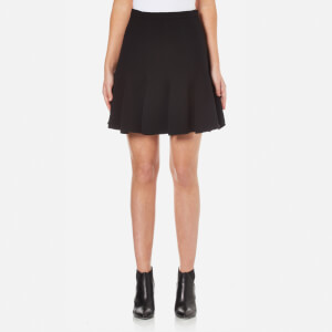 Carven Women's Flared Skirt - Black