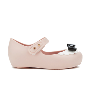 Mini Melissa Toddlers' Mini Alice Ultragirl Flats - Nude Bow