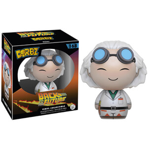 Back to the Future Dr. Emmett Brown Dorbz Vinyl Figur