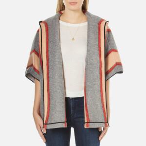 Maison Scotch Women's Hooded Throw-On Jacket - Multi