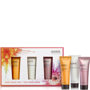 AHAVA Mini Hand Cream Trio