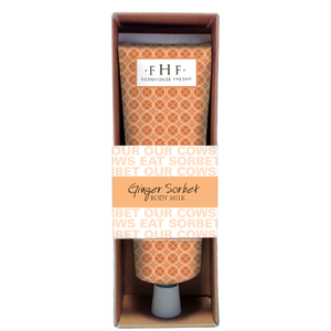 FarmHouse Fresh Ginger Sorbet Body Milk Travel Lotion