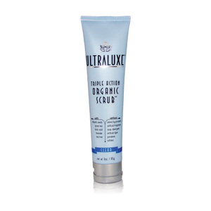 UltraLuxe Organic Triple Action Scrub - Clear