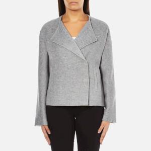 Selected Femme Women's Adana Jacket - Medium Grey Melange