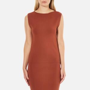 Selected Femme Women's Mirja Knitted Top - Rustic Brown