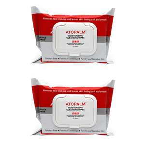 ATOPALM Moisturizing Cleansing Wipes Duo