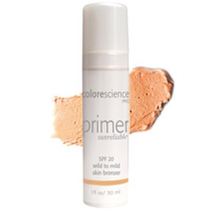 Colorescience Skin Bronzing Face Primer SPF 20 - Wild to Mild
