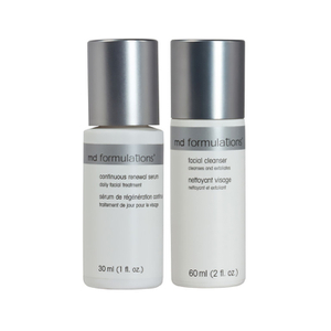 MD Formulations Facial Cleanser and Moisturizer Duo