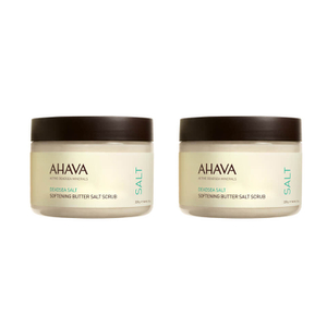 2x AHAVA Softening Butter Salt Scrub