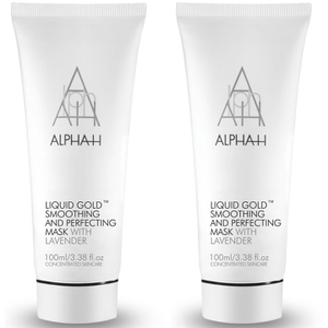 2x Alpha-H Liquid Gold Smoothing and Perfecting Mask 100ml
