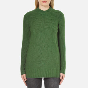 MICHAEL MICHAEL KORS Women's Merino Rib Sweater - Moss Green