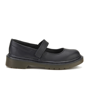 Dr. Martens Kids' Maccy Leather Mary Jane Shoes - Black