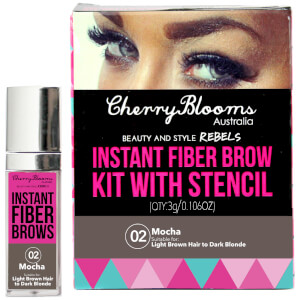 Cherry Blooms Fiber Brow Kit - Mocha