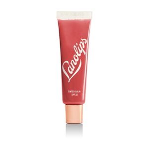 LANOLIPS Lip Ointment with colour + SPF- RHUBARB