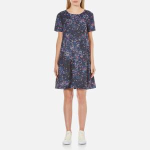 Selected Femme Women's Nisma Short Sleeve Dress - Aop Print