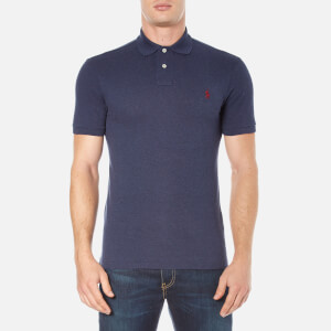 Polo Ralph Lauren Men's Short Sleeve Slim Fit Polo Shirt - Navy Heather
