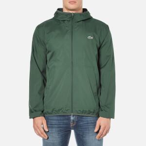 Lacoste Men's Showerproof Lightweight Jacket - Kelp