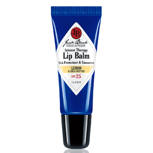 Jack Black Intense Therapy Lip Balm SPF 25 with Lemon and Shea Butter
