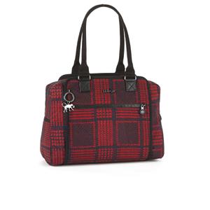 Kipling Women's Fayfever Large Shoulder Bag - Check Mix