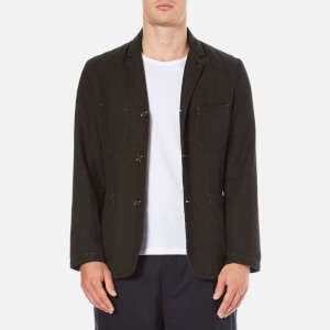Universal Works Men's Suit Jacket - Olive