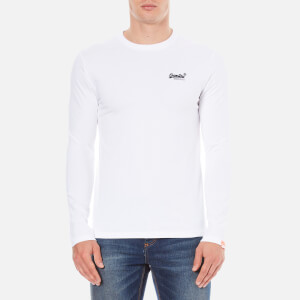 Superdry Men's Orange Label Long Sleeve Top - Optic