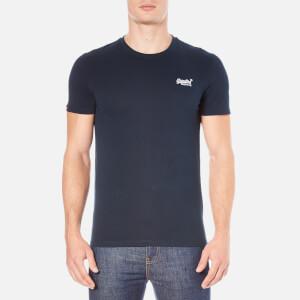 Superdry Men's Orange Label Vintage Embroidered T-Shirt - Eclipse Navy