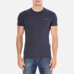 Superdry Men's Orange Label Vintage Embroidered T-Shirt - Deep Indigo Jaspe