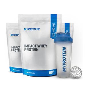 Impact Whey x 3 - Paket