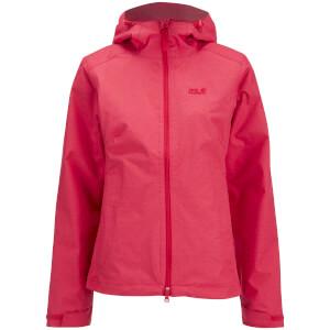 Jack Wolfskin Women's Northern Sky Jacket - Hibiscus Red