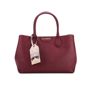 Karl Lagerfeld Women's K/Lady Shopper Bag - Bordeaux