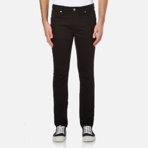 Calvin Klein Men's Body Slim Fit 6 Pocket Jeans - Core Black Stretch