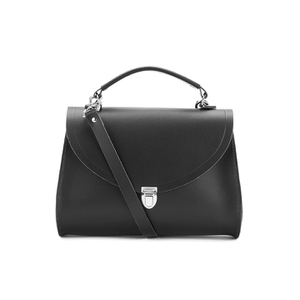 The Cambridge Satchel Company Women's The Poppy Shoulder Bag - Black