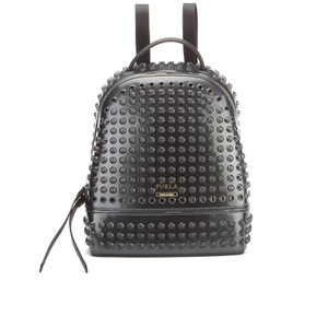 Furla Women's Candy Peter Pan Small Backpack - Onyx Metal