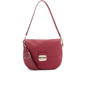Furla Women's Club Cross Body Bag - Rubino