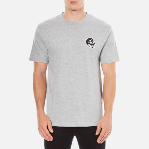 Cheap Monday Men's Fantastic Small Skull T-Shirt - Grey Melange