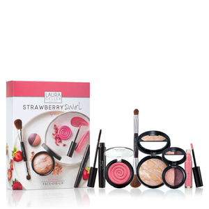 Laura Geller Strawberry Swirl 6 Piece Collection Medium (Worth £117)